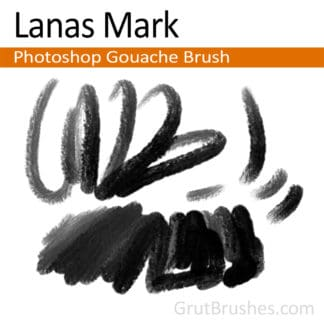 Lanas Mark - Photoshop Gouache Brush