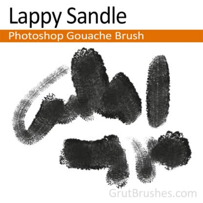 Lappy Sandle - Photoshop Gouache Brush