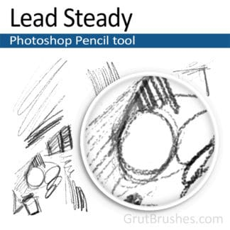 Lead Steady - Photoshop Pencil Brush