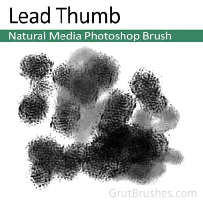 Lead Thumb - Photoshop Natural Media Brush