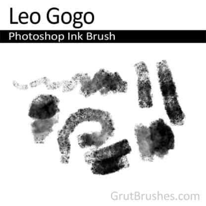 Photoshop Ink Brush for digital artists 'Leo Gogo'