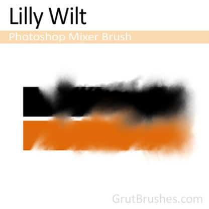 Lilly Wilt - Photoshop Mixer Brush