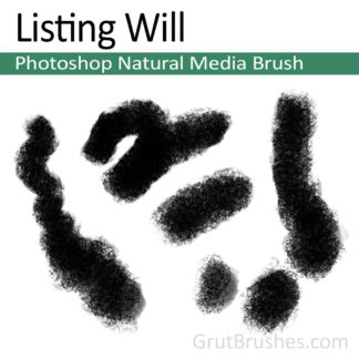 Photoshop Natural Media for digital artists 'Listing Will'