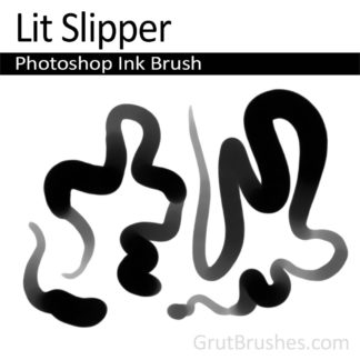 Lit Slipper - Photoshop Ink Brush