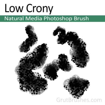 Low Crony - Photoshop Natural Media Brush