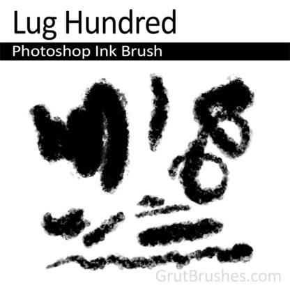 Photoshop Ink Brush for digital artists 'Lug Hundred'