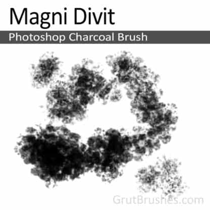 Magni Divit - Photoshop Charcoal Brush