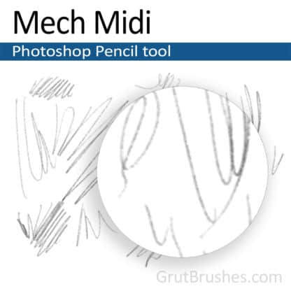 Mech Midi - Photoshop Pencil