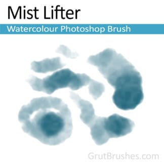 Photoshop Watercolour Brush for digital artists 'Mist Lifter'