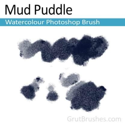 Mud Puddle - Photoshop Watercolor Brush