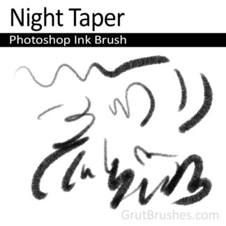 Night Taper - Photoshop Ink Brush