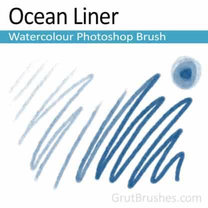 Ocean Liner - Photoshop Watercolour Brush