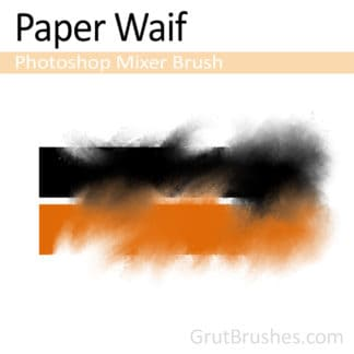 Paper Waif - Photoshop Mixer Brush