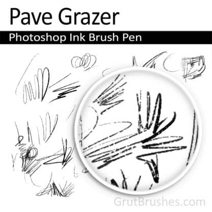 Pave Grazer - Photoshop Ink Brush