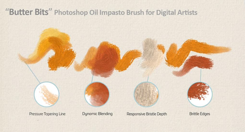 Free Photoshop Oil Painting Brush - GrutBrushes com