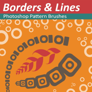 Photoshop Pattern brushes