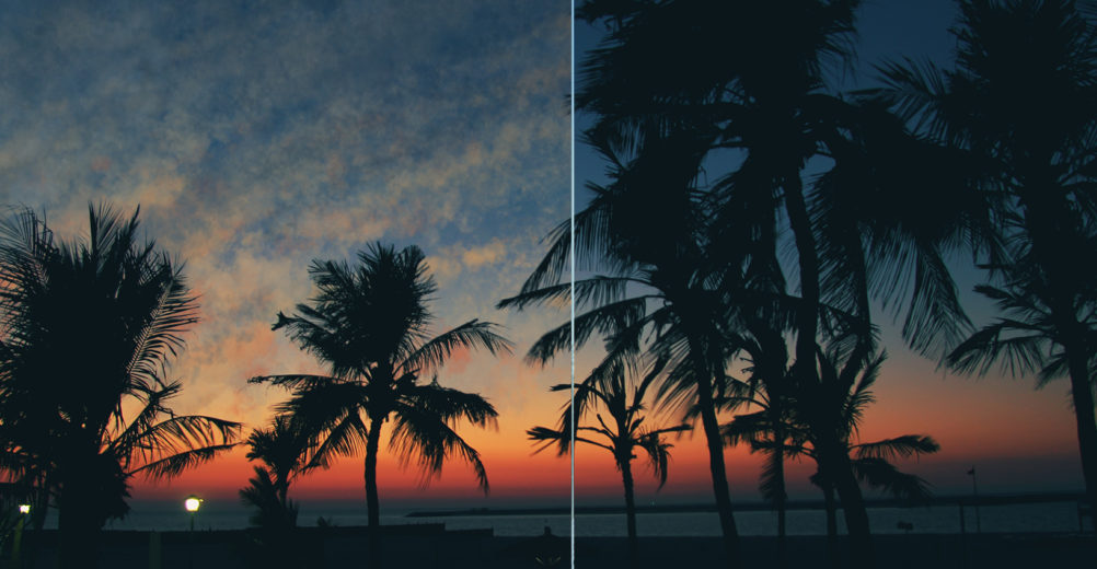 Photoshop-cloud-painting-Sunset