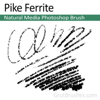 Pike Ferrite - Photoshop Natural Media Brush