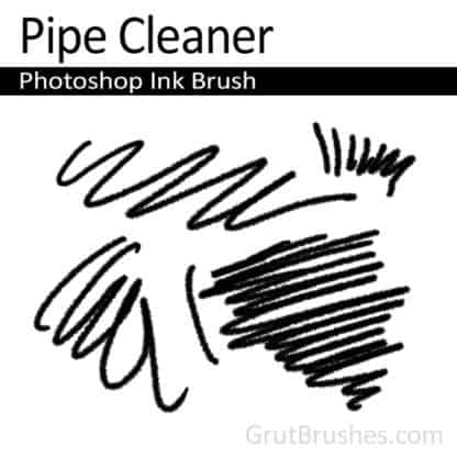 Pipe Cleaner - Photoshop Marker Brush