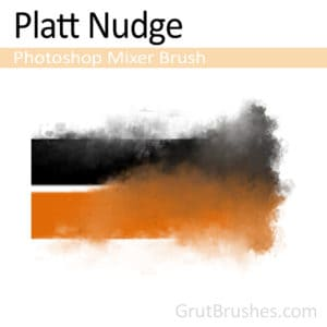 'Platt Nudge' Photoshop Mixer Brush