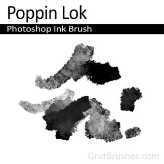 Poppin Lok - Photoshop Ink Brush