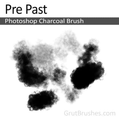 Photoshop Charcoal Brush for digital artists 'Pre Past'