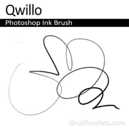 Qwillo - Photoshop Ink Brush