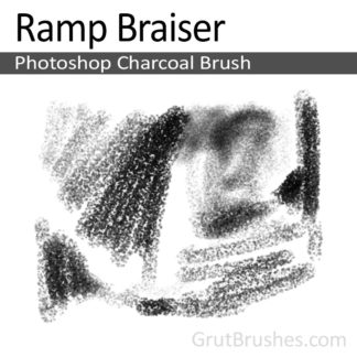 Ramp Braiser - Photoshop Charcoal Brush