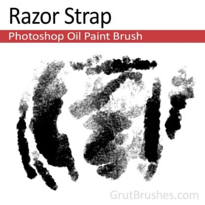 Razor Strap - Photoshop Oil Brush