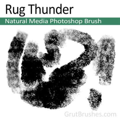 Rug Thunder - Photoshop Natural Media Brush