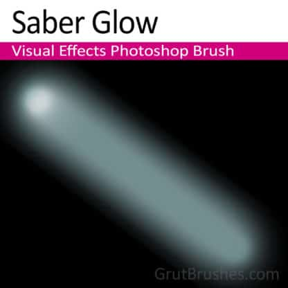 LightSaber Glow - Photoshop Lightsaber Brush