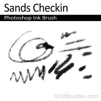 Photoshop Ink Brush for digital artists 'Sands Checkin'