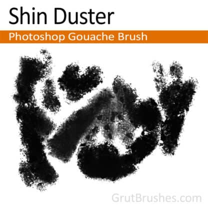 Shin Duster - Photoshop Gouache Brush