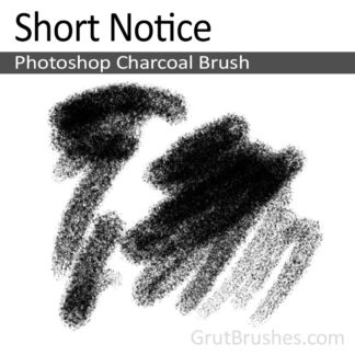 Short Notice - Photoshop Charcoal Brush