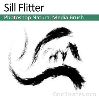 Photoshop Natural Media for digital artists 'Sill Flitter'
