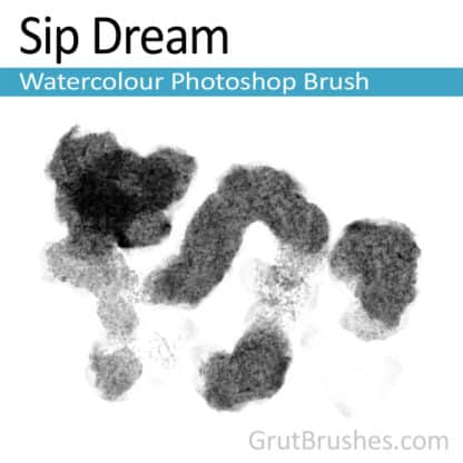 Sip Dream - Photoshop Watercolor Brush
