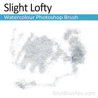 Slight Lofty - Photoshop Watercolor Brush