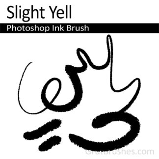 Slight Yell - Photoshop Ink Brush