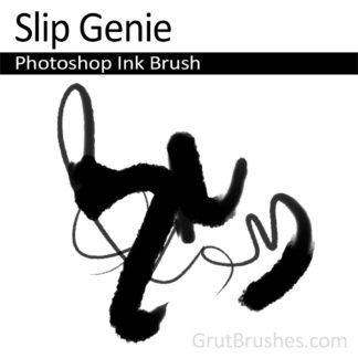 Slip Genie - Photoshop Ink Brush