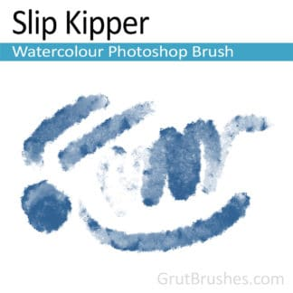 Photoshop Watercolor Brush for digital artists 'Slip Kipper'