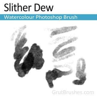 Slither Dew - Photoshop Watercolor Brush