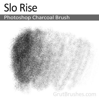 Slo Rise - Photoshop Charcoal Brush