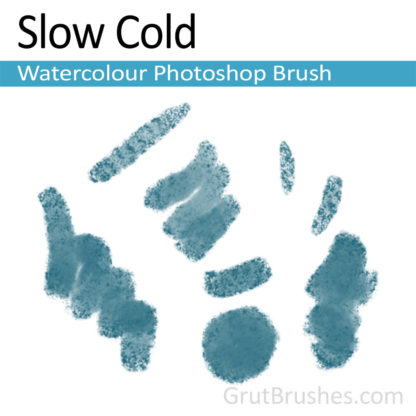 Photoshop Watercolor for digital artists 'Slow Cold'