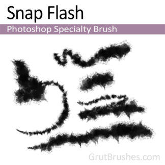 Photoshop Specialty Brush for digital artists 'Snap Flash'