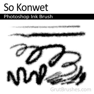 So Konwet - Photoshop Ink Brush