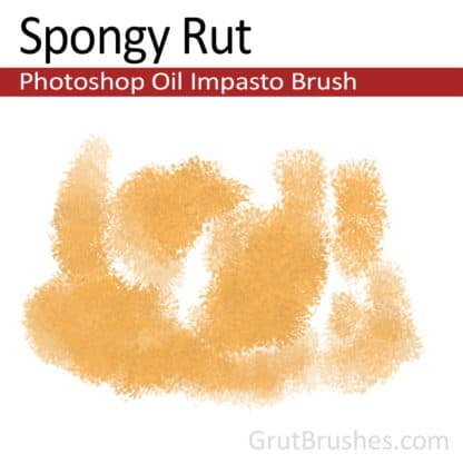 Spongy Rut - Photoshop Impasto Oil Brush