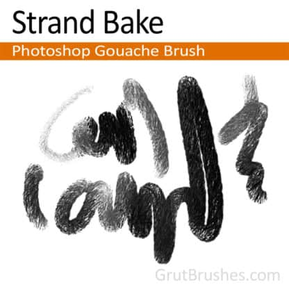 Strand Bake - Photoshop Gouache Brush