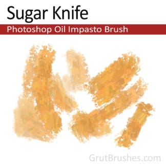 Sugar Knife - Impasto Oil Photoshop Brush