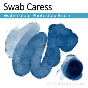 Swab Caress - Watercolour Photoshop Brush