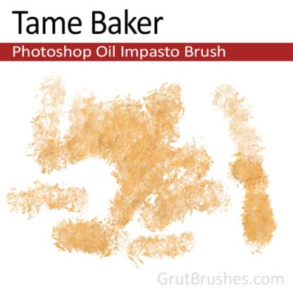 Tame Baker - Photoshop Impasto Oil Brush